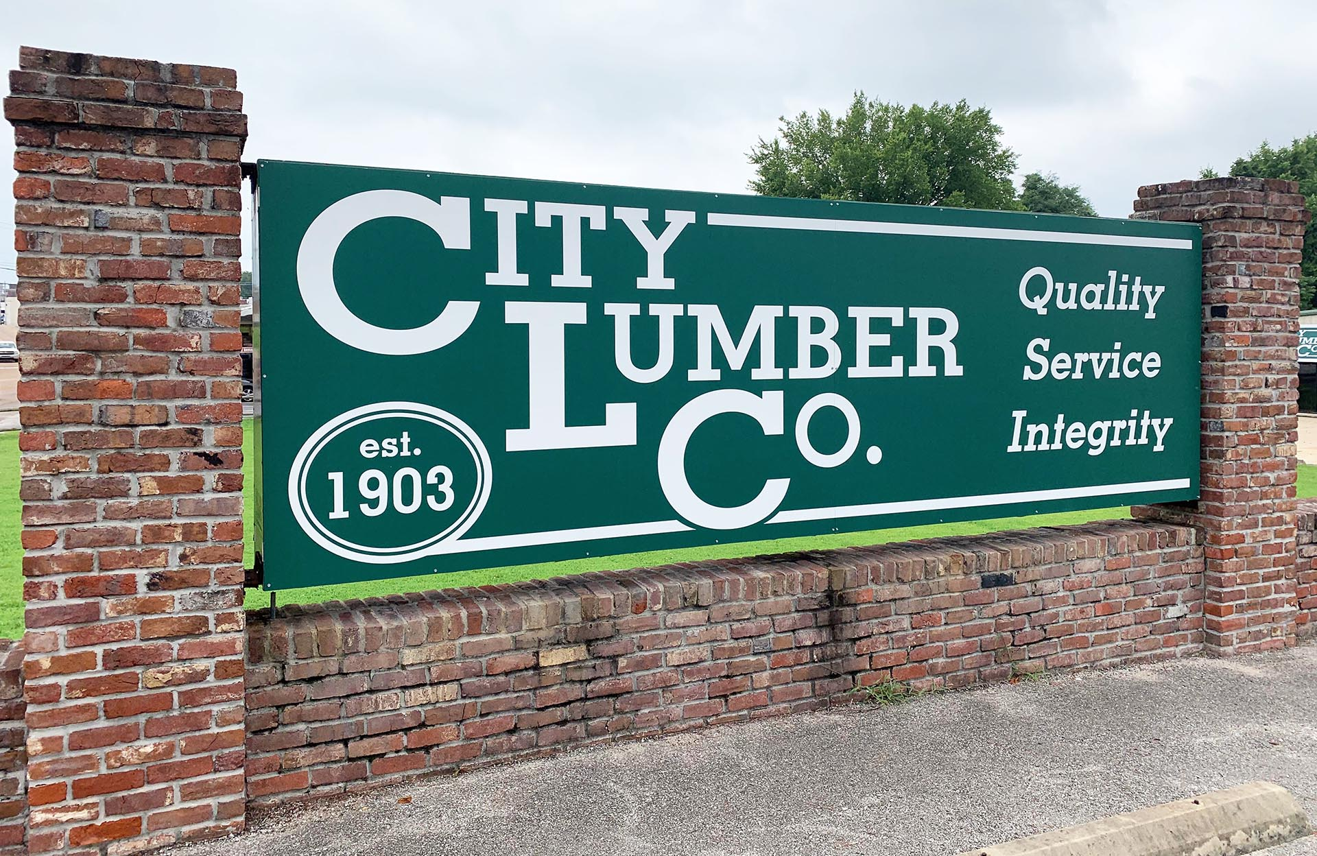 City Lumber Co. Sign